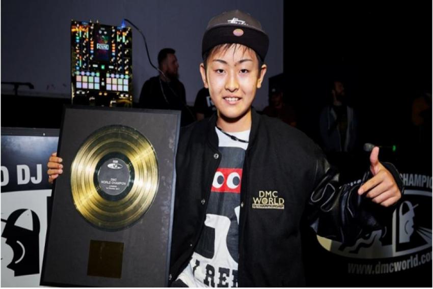 DJ RENA remporte la finale du DMC WORLD DJ CHAMPIONSHIP 2017