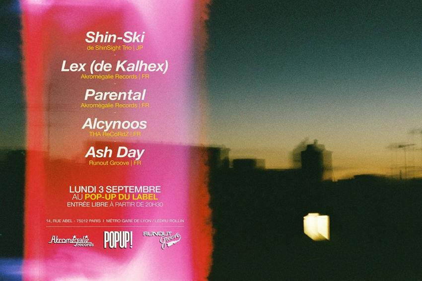 Shin-Ski en live pour la première fois à Paris