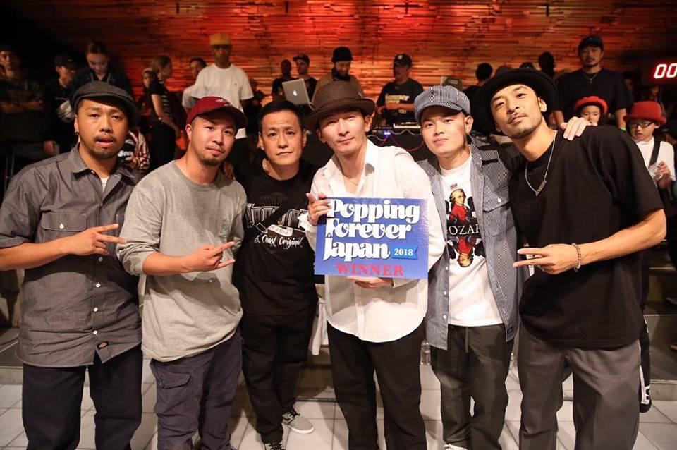 Retour en image sur le battle de danse Forever Japan