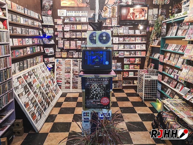 Castle Records Ueno Tokyo - Photo de Tristan Denis