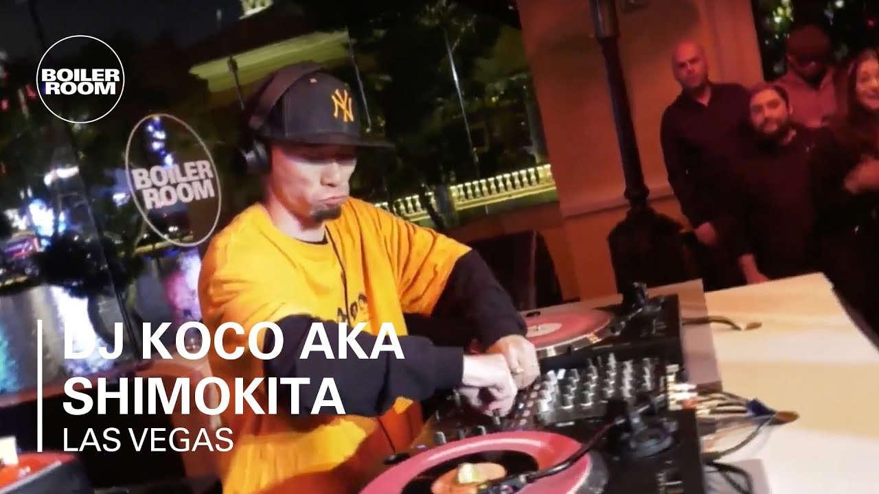 DJ Koco aka Shimokita live set à Las Vegas