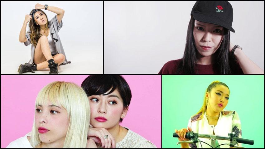 Rappeuses japonaises : 10 artistes actives à découvrir en 2019