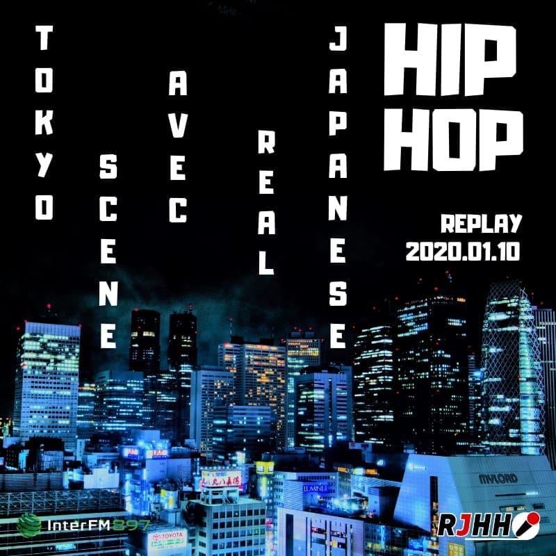 REPLAY Tokyo Scene avec RJHH 10/01
