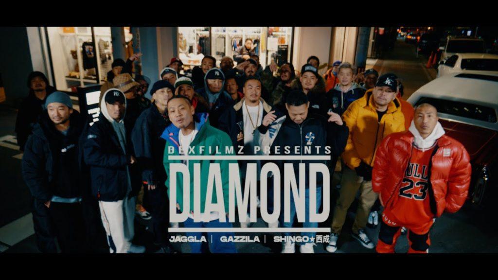 JAGGLA, Diamond feat. Shingo Nishinari
