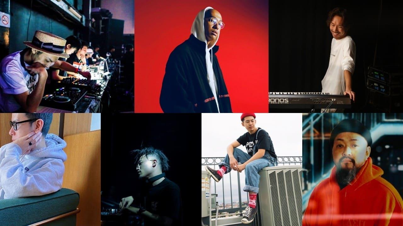 Grooveman Spot, DaBook, DJ AKITO, ggoyle, Sam is Ohm, Shingo.S, UKI