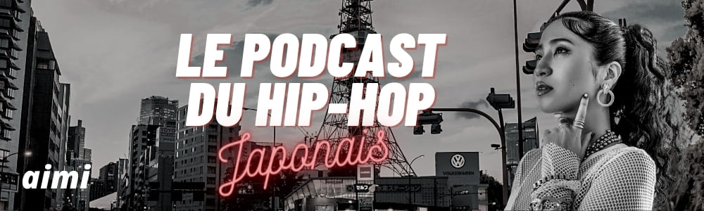 aimi dans le podcat spécial du hip-hop japonais