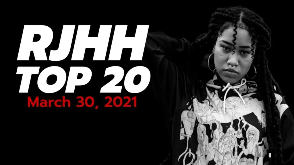 Real Japanese Hip Hop TOP 20, mars 2021