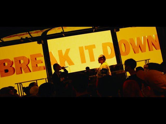 DJ RYOW – Break it down feat. Japanese Magenese & 19Fresh
