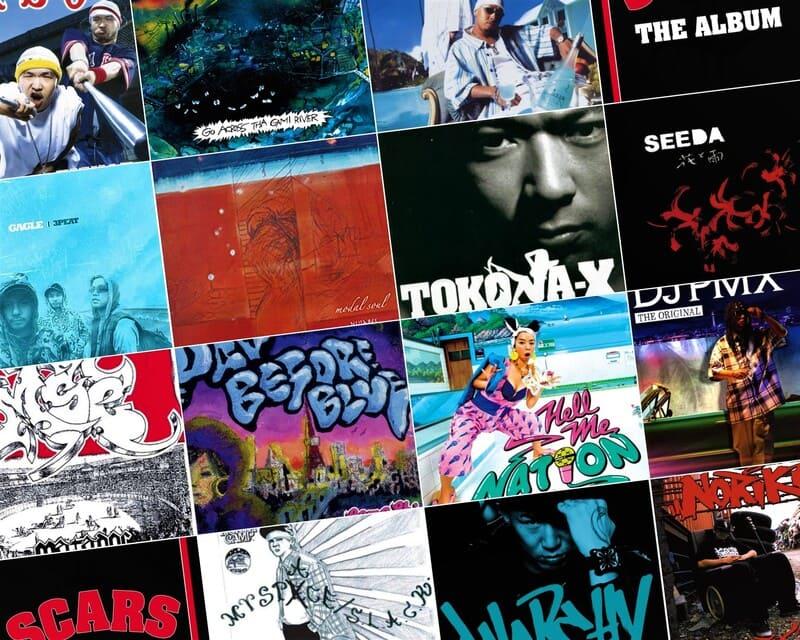 Les albums de rap japonais des années 2000
