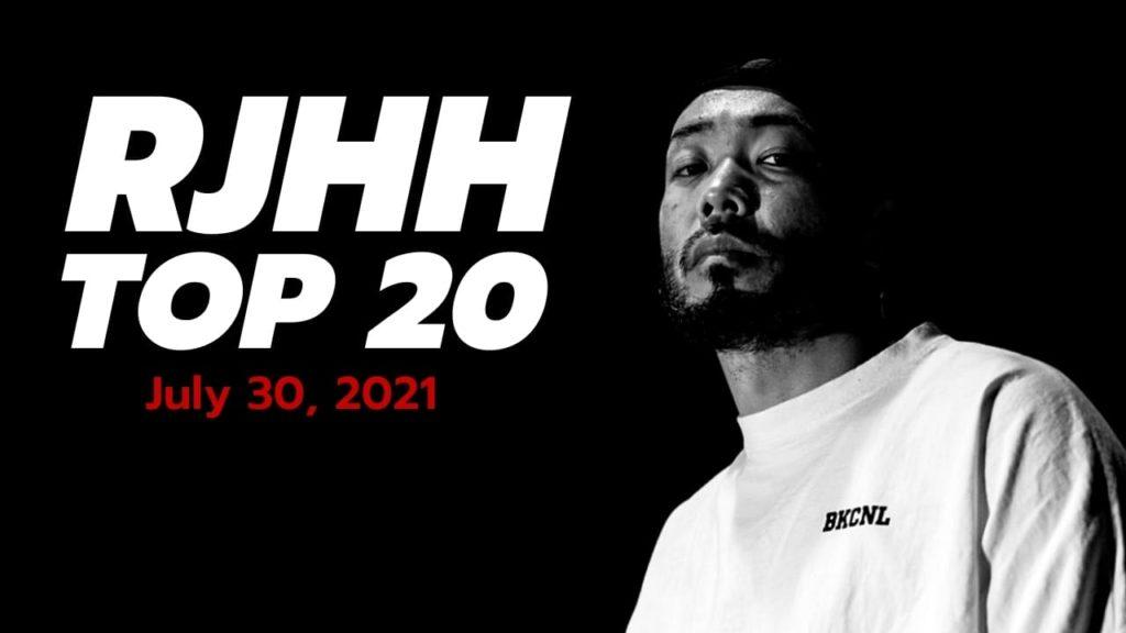 Real Japanese Hip Hop TOP 20, 30 juillet 2021